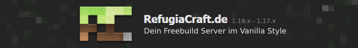 RefugiaCraft Banner